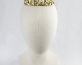 Stephanie - Crown - Bridal Tiara, Bridal Crown,  Bridal headpiece, Wedding Accessories, Wedding headpiece,