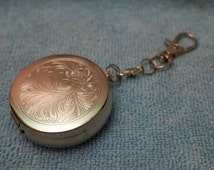 Vintage; Ashtray; Metal Keychain; Approx. 2 in. Novelty!!!