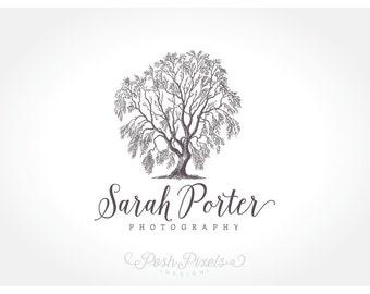 Logo Design (Premade) Tree logo, Willow logo, Photography logo, Business logo, Boutique Logo