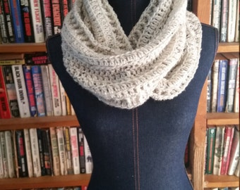READY TO SHIP!! Limited Edition Tweed Infinity Scarf