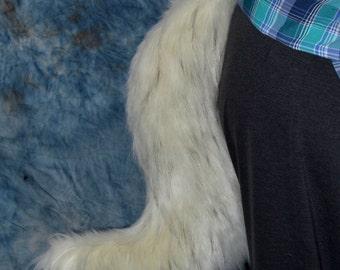 Arctic Snow Wolf Tail