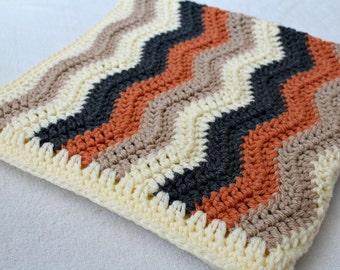 CROCHET BLANKET PATTERN Ripple Blanket Pattern Crochet Pattern Toddler Blanket Pattern Toddler Ripple Blanket Pattern Toddler Photo Prop #15