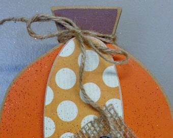 Fall decor, Autumn Decor, Pumpkin, Home set interchangeable O