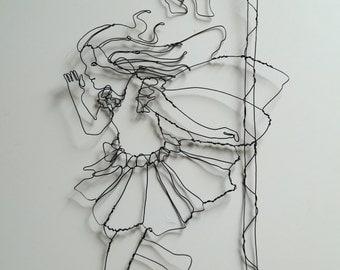 Wire Flower Fairy