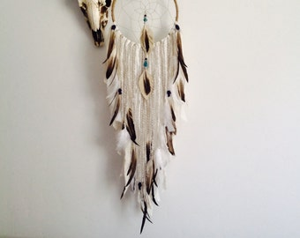 Native Dream Catcher, Dreamcatcher, Tapestry, Wall Hanging, Bohemian Wall Tapestries, Tribal Nursery,