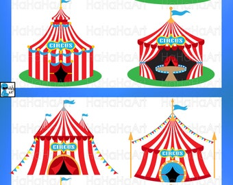 Circus Tent - Cutting Files Svg Png Jpg Eps Digital Graphic Design Instant Download Commercial Use Cut Tents Carnival Festival (00618c)