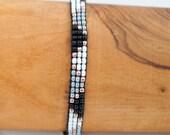 Woven bracelet - beads