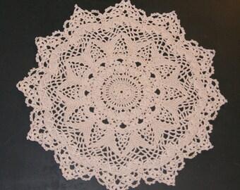 """Delicate Crocheted Patricia Kristoffersen design  """"Doily"""""""