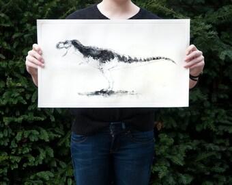 Tyrannosaurus Rex etch