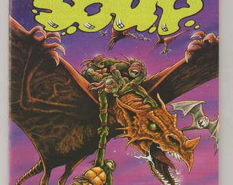 Turtle Soup; Vol 1, 1, Copper Age Comic Book.  NM+ (9.6). 1987.  Mirage Studios