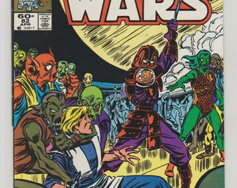 Star Wars; Vol 1, 82 Copper Age Comic Book.  VF/NM (9.0). April 1984.  Marvel Comics