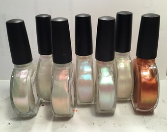 Planetary Collection;5-free, hand mixed nail lacquer