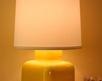 YELLOW ceramic Modern Lamp