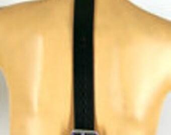 Leather Wrist/Collar Restraint Harness