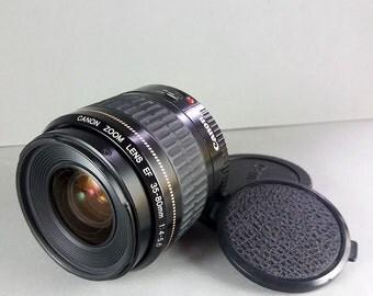 Canon EF 35-80mm f/4-5.6 USM zoom lens for digital & 35mm EOS cameras