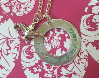 I Can Show You The World Aladdin Necklace
