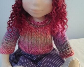 Helen 19inch Waldorf doll