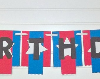 Ninja banner set, Warrior Ninja banner, Ninja throwing star banner, Ninja birthday party theme