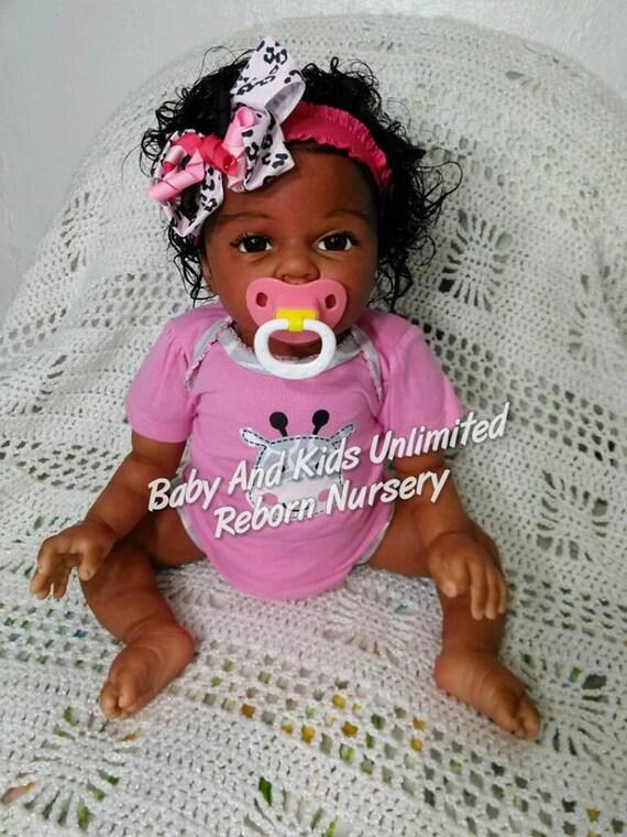 Micro Preemie Reborn Baby Doll Wit Whimzy Reborn Nursery