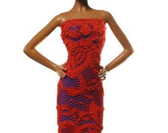 Handmade clothes for Barbie (dress): Horado