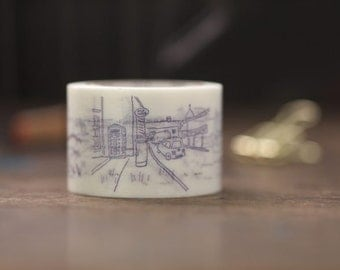 Washi Tape Drawings MT x Mizumaru Anzai MT Masking Tape (MTANZI01)