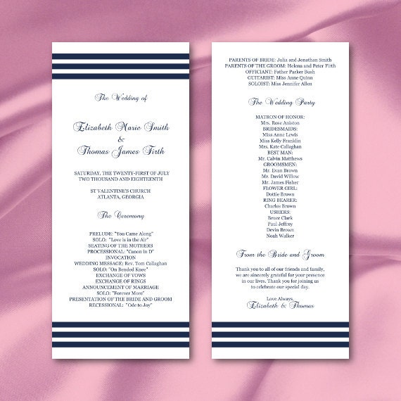tea size wedding menu template - 28 images - menu wedding menu ...