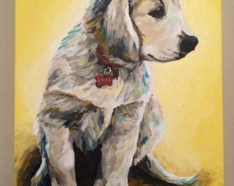Custom Pet Painting Custom dog painting