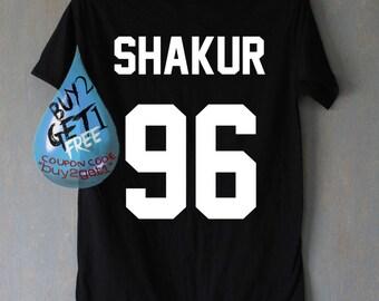 Shakur 96 Shirt Tupac 2PAC Shirts T Shirt T-Shirt TShirt Tee Shirt Unisex
