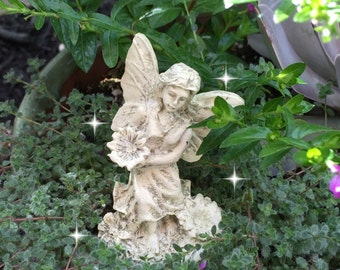Fairy garden statues Etsy