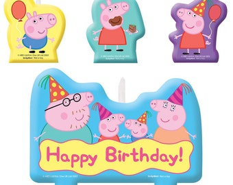 Peppa Pig Candle Set 1 (set)