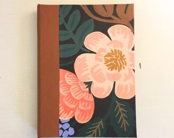 Bordeaux flower Address book, medium