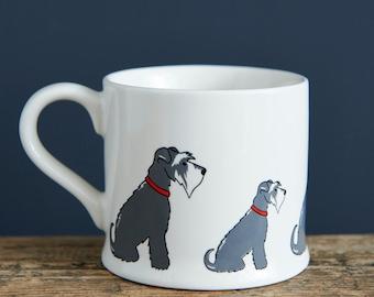 Schnauzer mug (choice of colour)