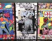 Custom Comic Decoupage Short Box for comic storage, MADE to ORDER Marvel, DC, Image, Archie, Dark Horse