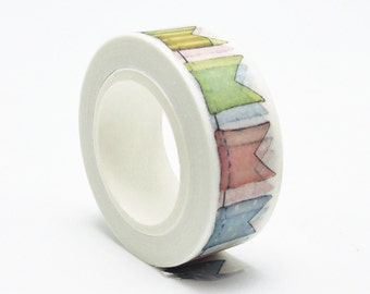 Washi tape, banners, bunting, flags