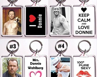 Donnie Wahlberg Keychain Key Ring - Many Designs To Choose From NKOTB New Kids On The Block