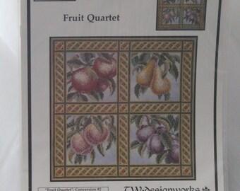 "Fruit Quartet by Teresa Wentzler ""Conversion #2"" 2001 TW Designworks"