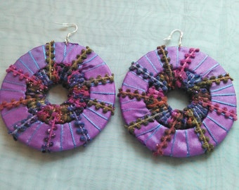 Stylish Ribbon Earrings