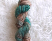 jade serpent - MCN sock yarn - merino cashmere nylon