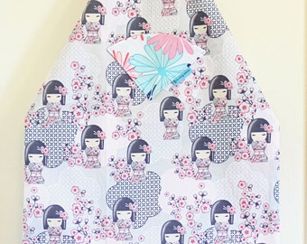 Dolls and Flowers - Laminate Apron