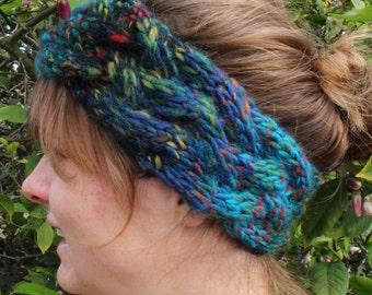 Cozy Cabled Infinity Headband