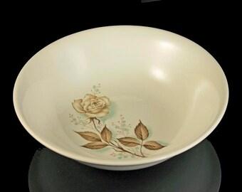 Mount Clemens, Serving Bowl, Brown Rose, Hard to Find Pattern