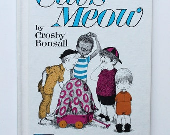 The Case of the Cat's Meow By Crosby Bonsall 1965