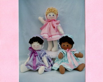 Mood Babies - Three-Faced Cloth Doll Pattern (PDF)