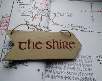 Mini arrow the Hobbit / / The Shire & Smaug / / wall Decoration