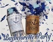 Drop The Anchor Bachelorette Party Confetti Push-Pops