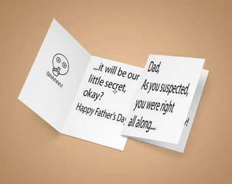 Fathers Day card, you were right,  dad card, fathers day