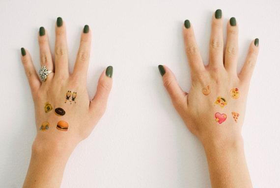 Emoji Temporary Tattoos- GeekTat