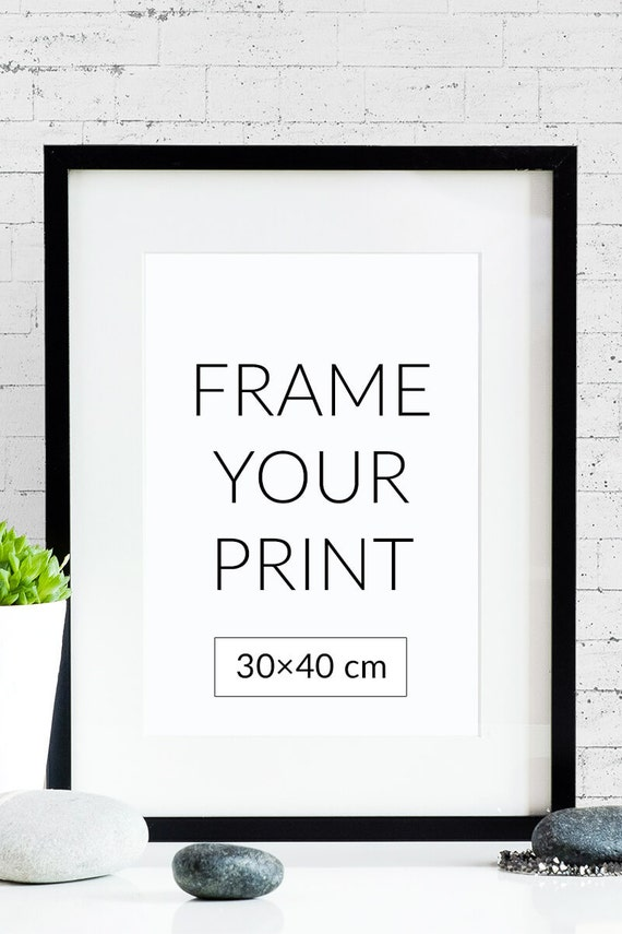 frame your poster size 30x40cm, Powerpoint templates