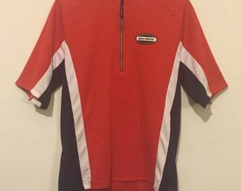 Giordana Navy Red White Bike Cyber y2k 90s Shirt M/L
