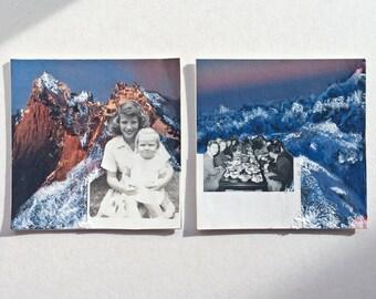 Mini Vintage Photo Collage   Originals